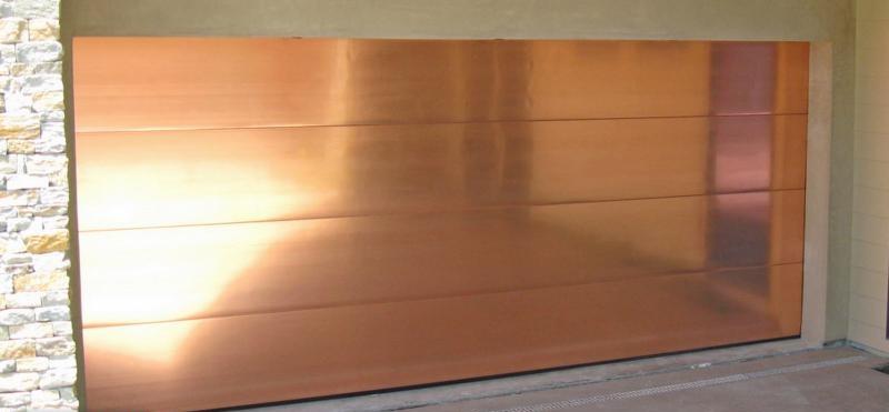 Ordinaire Copper Garage Door