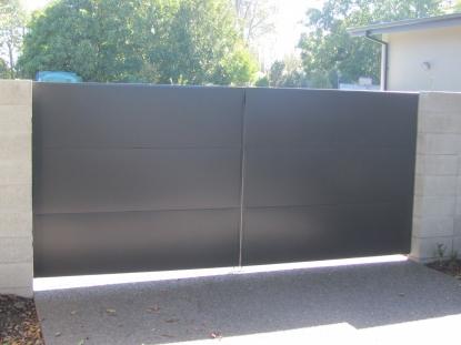 Swing Gate Metal Panel 5 Stars Garage Door Repair And