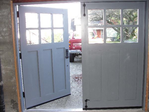 Swing Out Garage Door