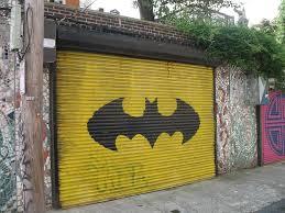 Batman garage door
