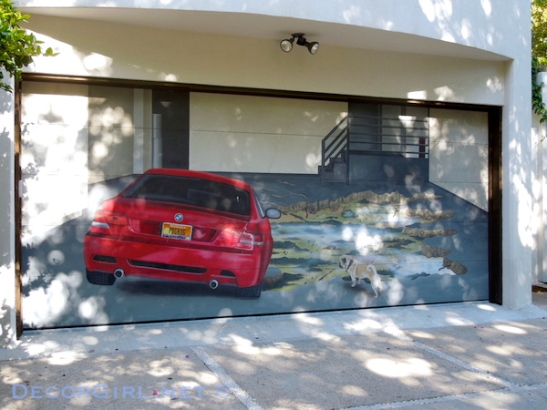 BMW garage door