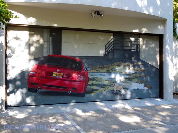 BMW garage door