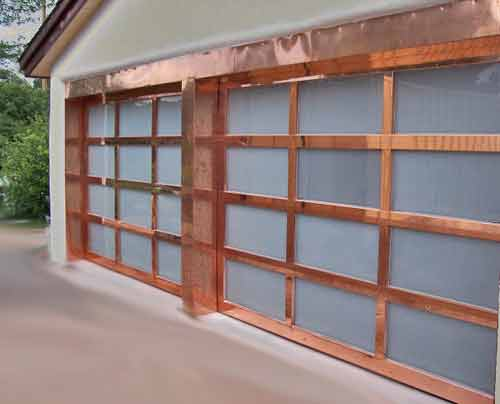 copper-garage-door-