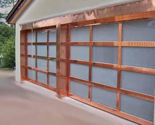 copper-garage-door-