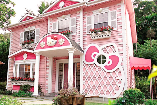 Hello Kitty exterior colors