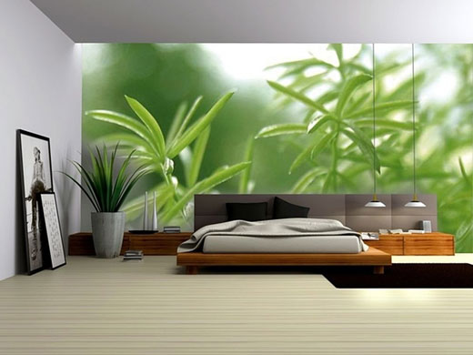Scenic wall decoration