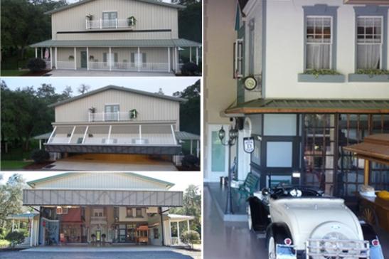 The optical illusion garage