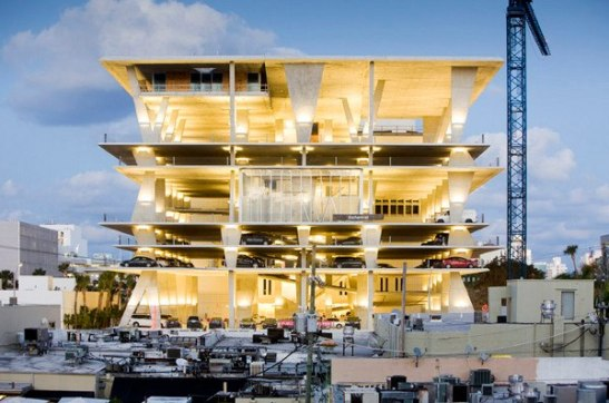 The world's most beautiful parking garage