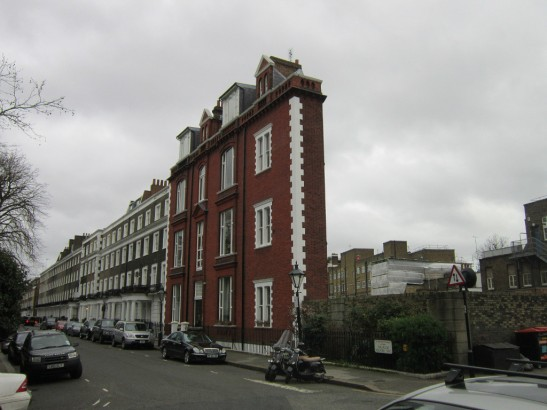 Thinnest house in the world located in London