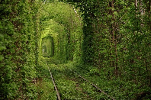 Ukraine green mile tunnel
