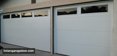 flash panel garage door