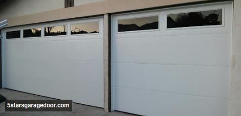 Flash Panel Garage Door