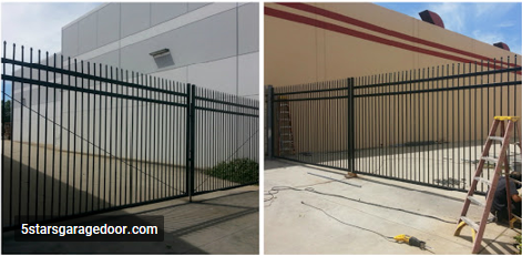 Sliding gate repair